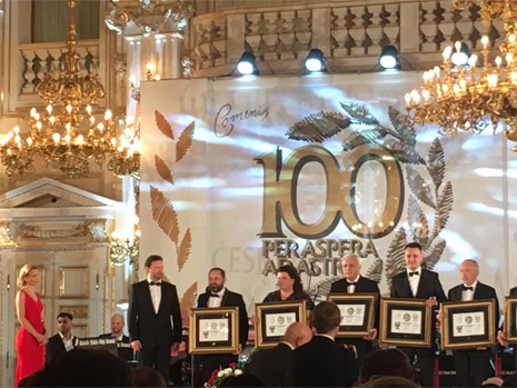 Czech 100 top company